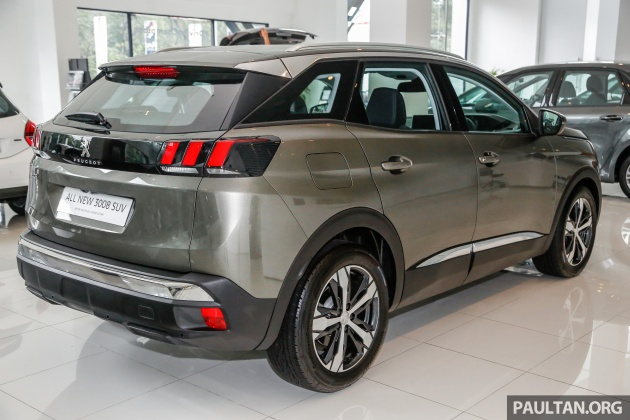 2017 peugeot 3008 launched in malaysia 1 6l turbo engine. Black Bedroom Furniture Sets. Home Design Ideas