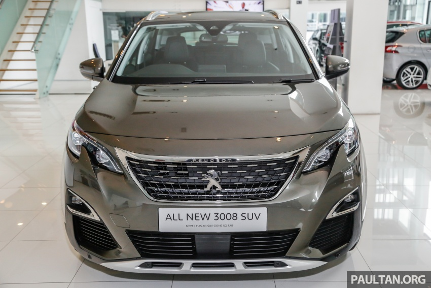 FIRST LOOK: 2017 Peugeot 3008 SUV walk-around Image #699062