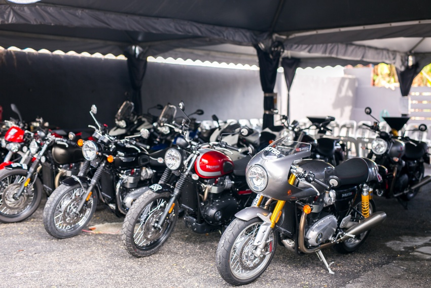 Triumph Malaysia opens larger Penang showroom Image #695273