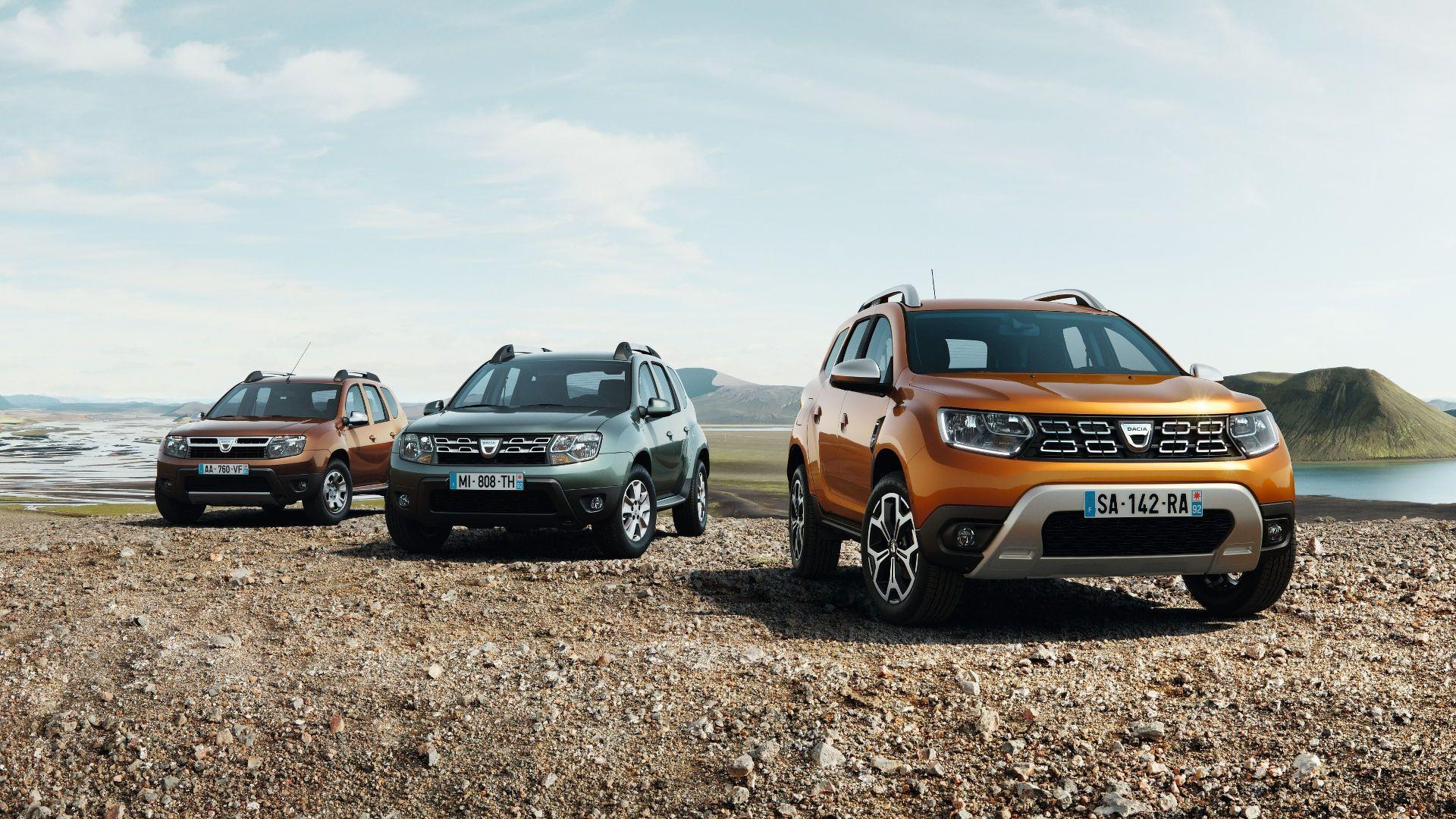 2018 dacia duster frankfurt debut for updated suv image for Interieur nouveau duster 2018