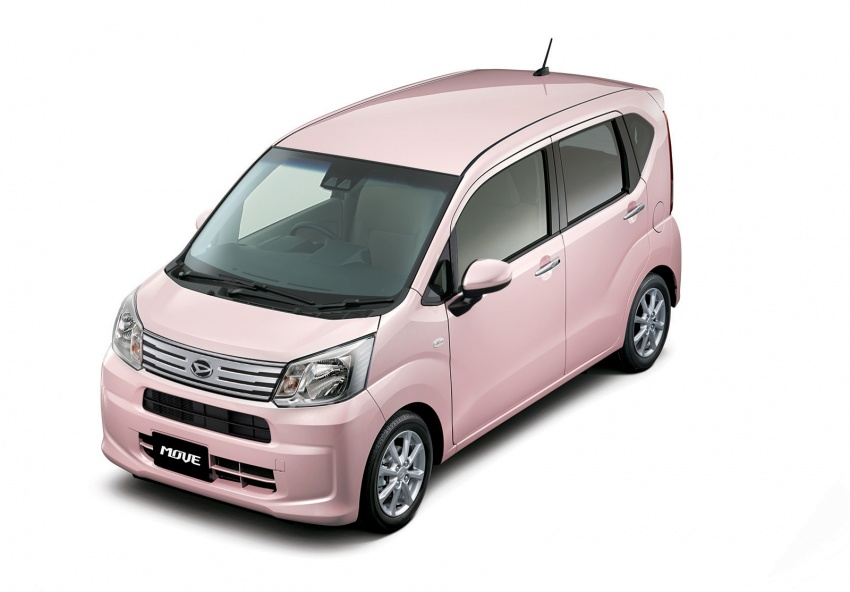 Daihatsu Move <em>kei</em> car receives an update in Japan Image #693094