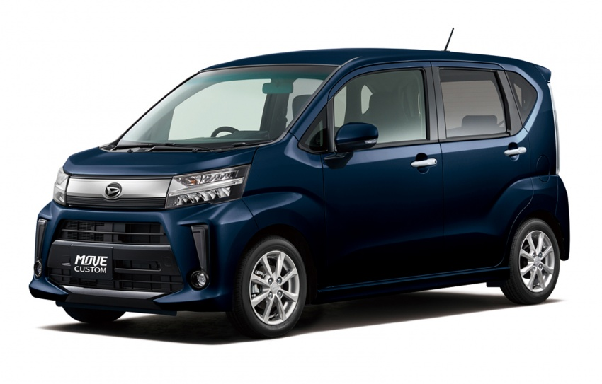 Daihatsu Move <em>kei</em> car receives an update in Japan Image #693103