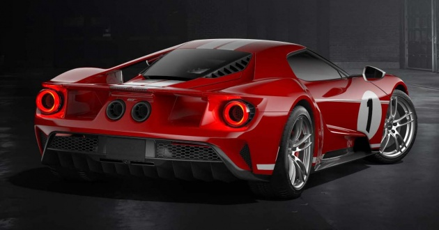 Successful Applicants Will Work With The Ford Gt Concierge Service For A Personalised Purchase Experience Of Cars Produced In The  Calendar