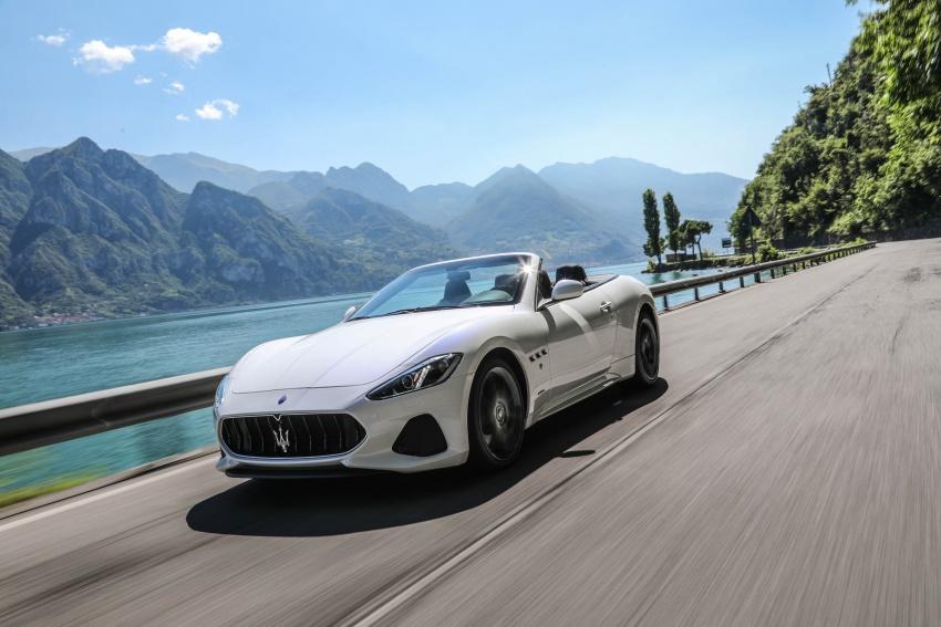 DRIVEN: 2018 Maserati GranTurismo, GranCabrio in northern Italy – form is temporary, class is permanent Image #700824