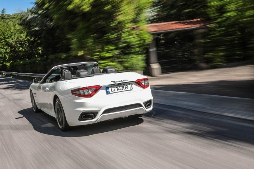 DRIVEN: 2018 Maserati GranTurismo, GranCabrio in northern Italy – form is temporary, class is permanent Image #700825