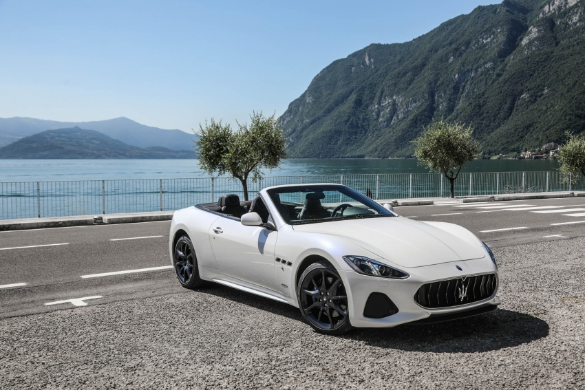 DRIVEN: 2018 Maserati GranTurismo, GranCabrio in northern Italy – form is temporary, class is permanent Image #700826