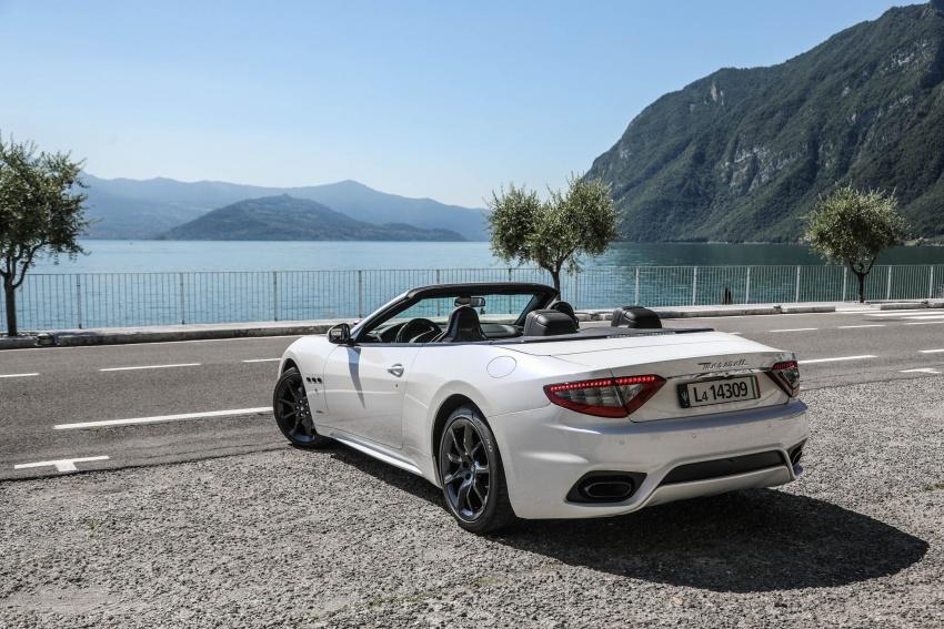 DRIVEN: 2018 Maserati GranTurismo, GranCabrio in northern Italy – form is temporary, class is permanent Image #700829