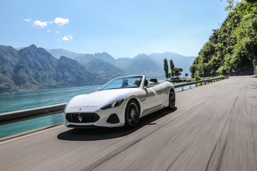 DRIVEN: 2018 Maserati GranTurismo, GranCabrio in northern Italy – form is temporary, class is permanent Image #700830