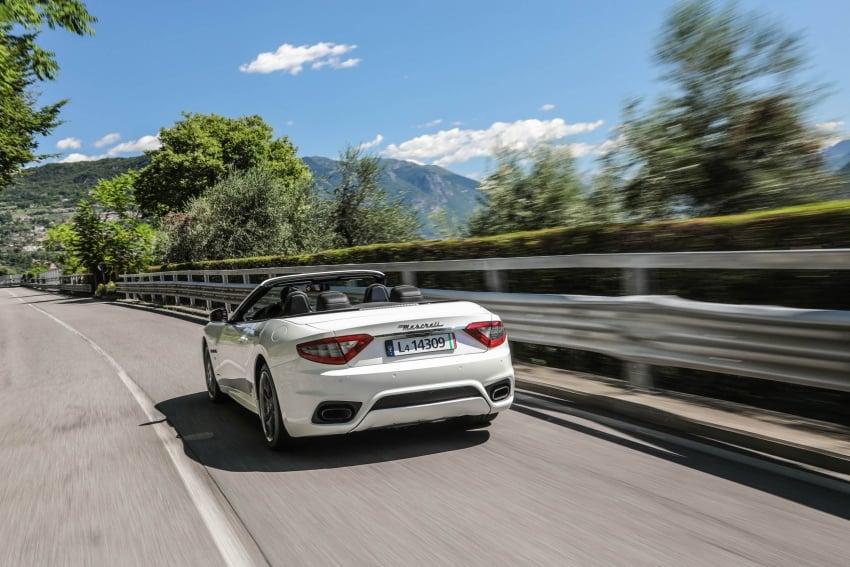 DRIVEN: 2018 Maserati GranTurismo, GranCabrio in northern Italy – form is temporary, class is permanent Image #700831