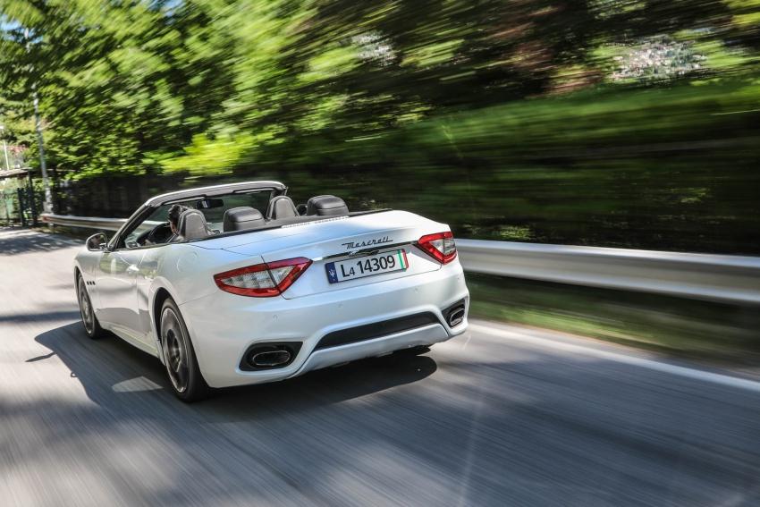 DRIVEN: 2018 Maserati GranTurismo, GranCabrio in northern Italy – form is temporary, class is permanent Image #700832