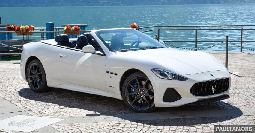 Driven 2018 Maserati Granturismo Grancabrio In Northern