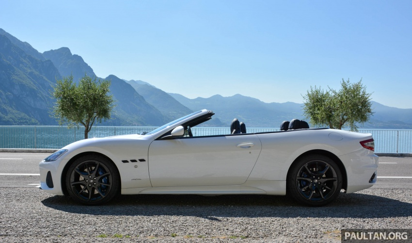 DRIVEN: 2018 Maserati GranTurismo, GranCabrio in northern Italy – form is temporary, class is permanent Image #700413