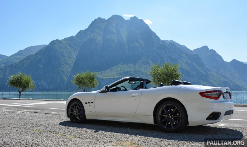 DRIVEN: 2018 Maserati GranTurismo, GranCabrio in northern Italy – form is temporary, class is permanent Image #700414