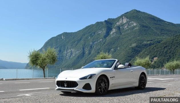 Driven 2018 Maserati Granturismo Grancabrio In Northern Italy Form Is Temporary Cl Permanent