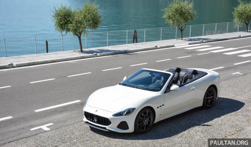 DRIVEN: 2018 Maserati GranTurismo, GranCabrio in northern Italy – form is temporary, class is permanent Image #700416