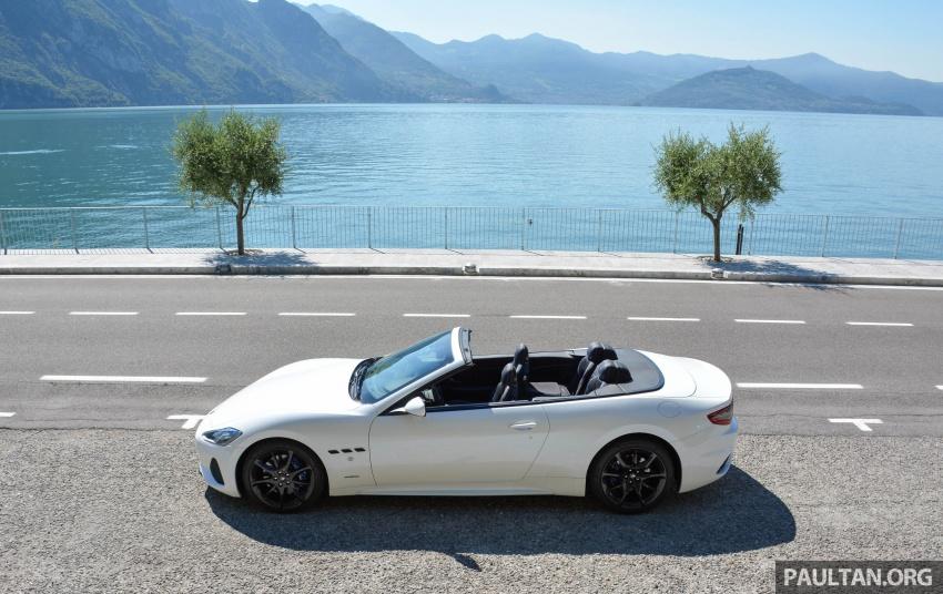 DRIVEN: 2018 Maserati GranTurismo, GranCabrio in northern Italy – form is temporary, class is permanent Image #700417
