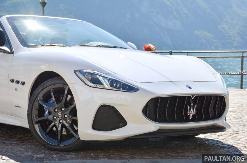 DRIVEN: 2018 Maserati GranTurismo, GranCabrio in northern Italy – form is temporary, class is permanent Image #700404