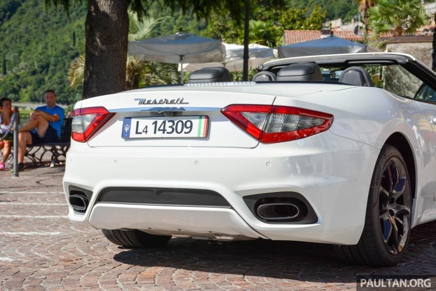 DRIVEN: 2018 Maserati GranTurismo, GranCabrio in northern Italy – form is temporary, class is permanent Image #700407