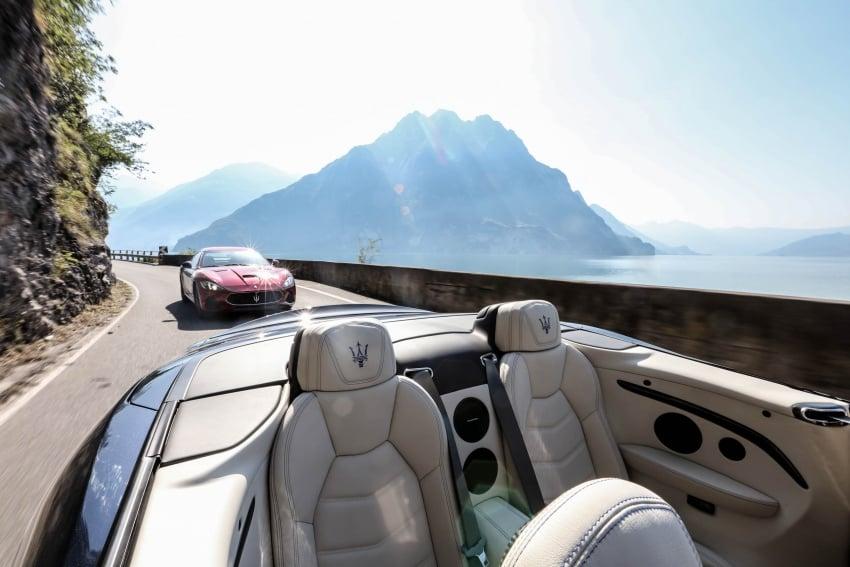 DRIVEN: 2018 Maserati GranTurismo, GranCabrio in northern Italy – form is temporary, class is permanent Image #700833
