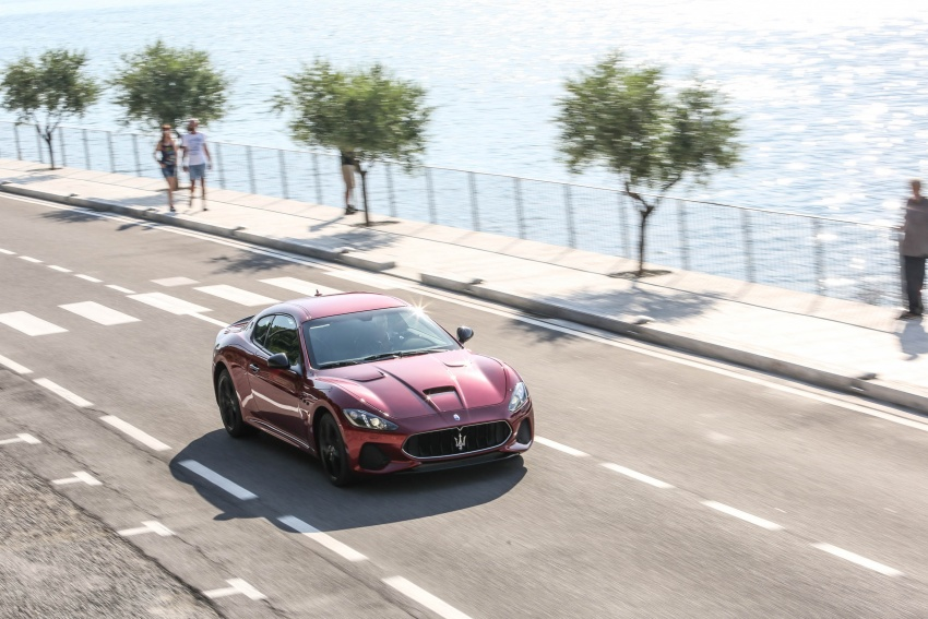 DRIVEN: 2018 Maserati GranTurismo, GranCabrio in northern Italy – form is temporary, class is permanent Image #700843