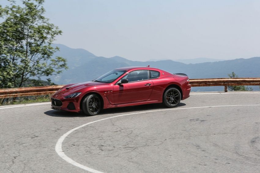 DRIVEN: 2018 Maserati GranTurismo, GranCabrio in northern Italy – form is temporary, class is permanent Image #700845