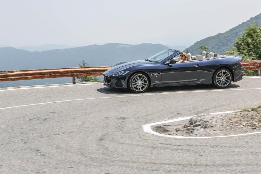 DRIVEN: 2018 Maserati GranTurismo, GranCabrio in northern Italy – form is temporary, class is permanent Image #700846