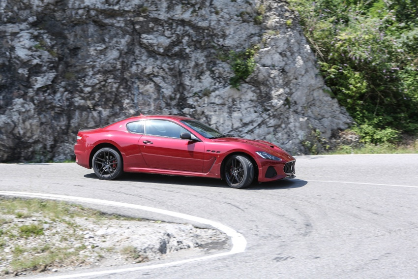 DRIVEN: 2018 Maserati GranTurismo, GranCabrio in northern Italy – form is temporary, class is permanent Image #700847