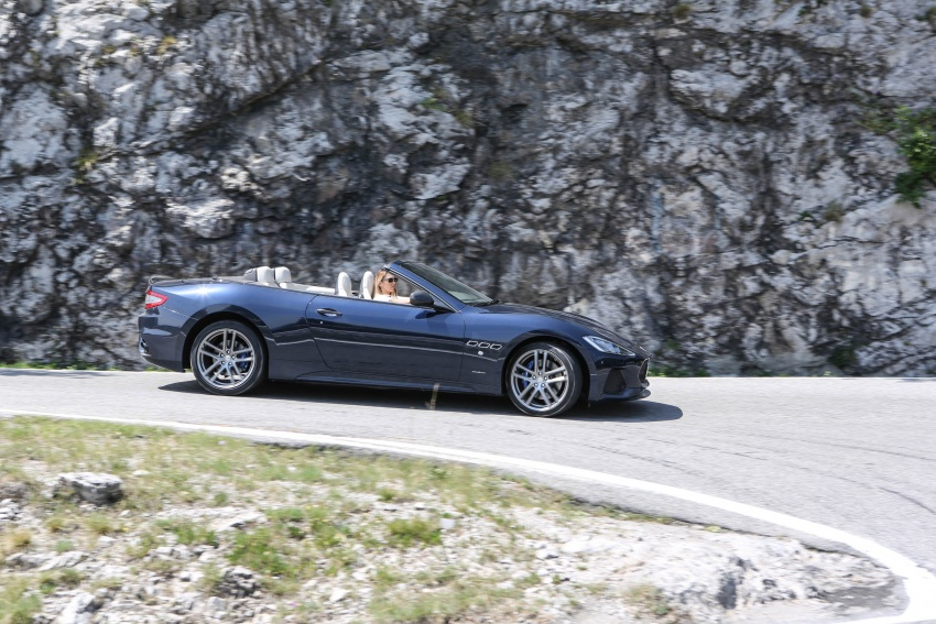 DRIVEN: 2018 Maserati GranTurismo, GranCabrio in northern Italy – form is temporary, class is permanent Image #700848