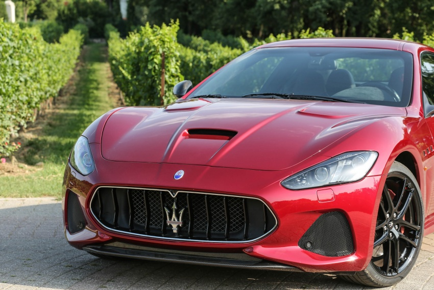 DRIVEN: 2018 Maserati GranTurismo, GranCabrio in northern Italy – form is temporary, class is permanent Image #700860