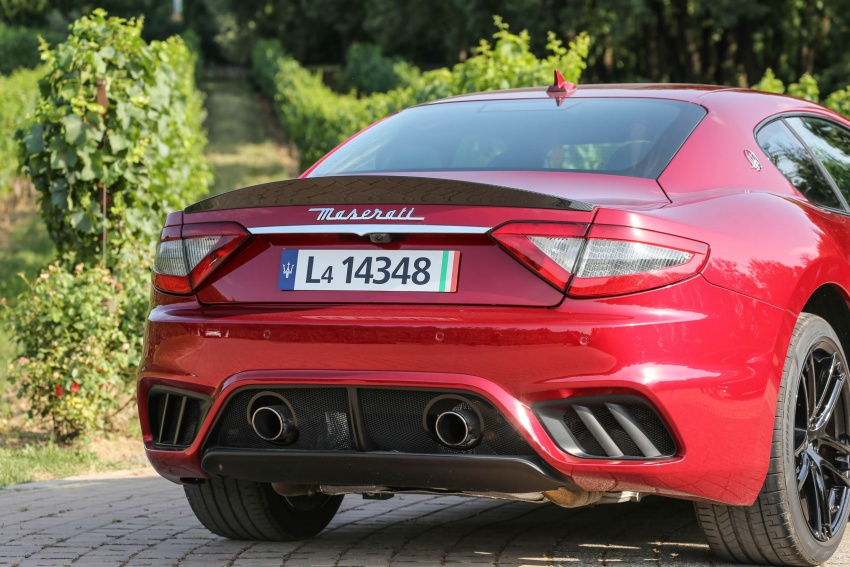 DRIVEN: 2018 Maserati GranTurismo, GranCabrio in northern Italy – form is temporary, class is permanent Image #700862