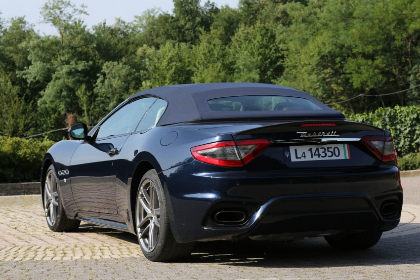 DRIVEN: 2018 Maserati GranTurismo, GranCabrio in northern Italy – form is temporary, class is permanent Image #700863