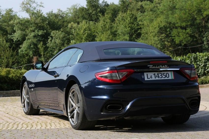 DRIVEN: 2018 Maserati GranTurismo, GranCabrio in northern Italy – form is temporary, class is permanent Image #700863