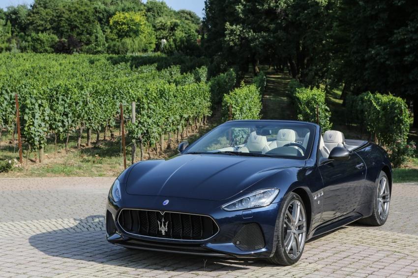 DRIVEN: 2018 Maserati GranTurismo, GranCabrio in northern Italy – form is temporary, class is permanent Image #700864