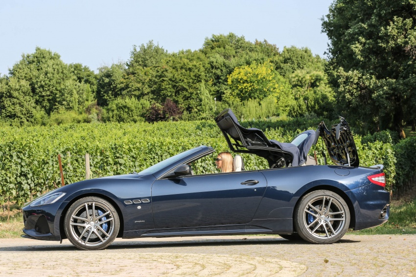 DRIVEN: 2018 Maserati GranTurismo, GranCabrio in northern Italy – form is temporary, class is permanent Image #700865