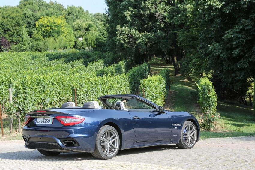 DRIVEN: 2018 Maserati GranTurismo, GranCabrio in northern Italy – form is temporary, class is permanent Image #700868
