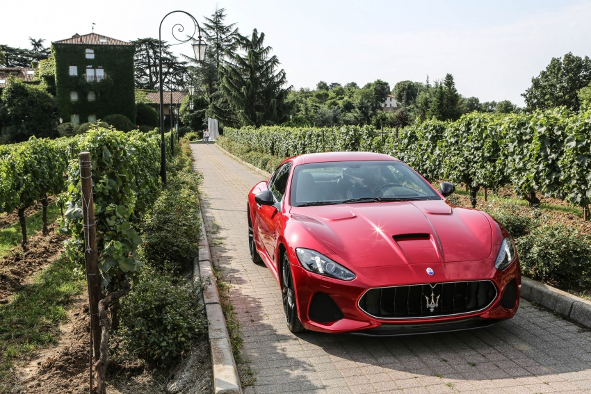 DRIVEN: 2018 Maserati GranTurismo, GranCabrio in northern Italy – form is temporary, class is permanent Image #700870