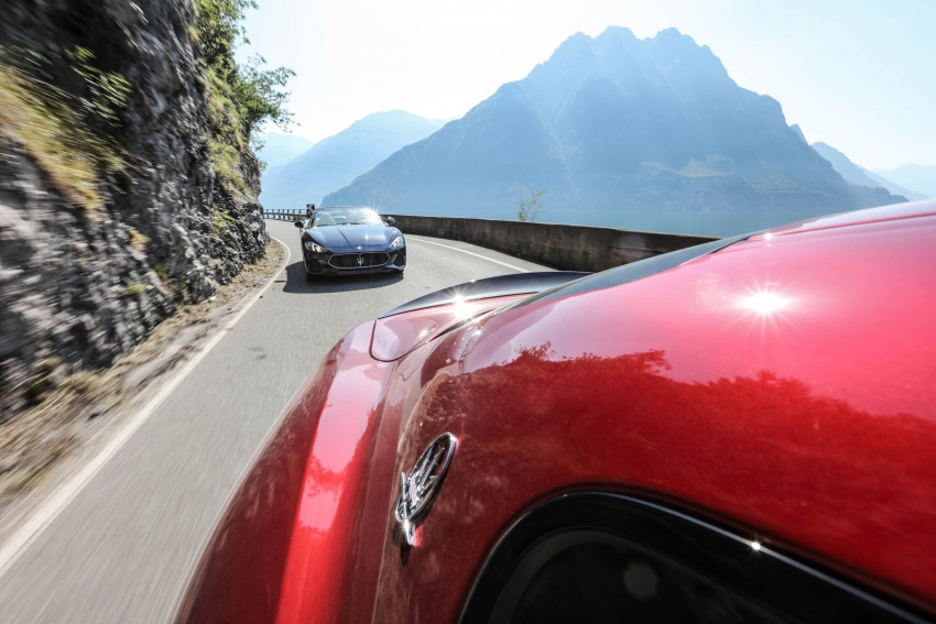 DRIVEN: 2018 Maserati GranTurismo, GranCabrio in northern Italy – form is temporary, class is permanent Image #700836