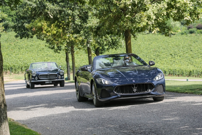 DRIVEN: 2018 Maserati GranTurismo, GranCabrio in northern Italy – form is temporary, class is permanent Image #700873