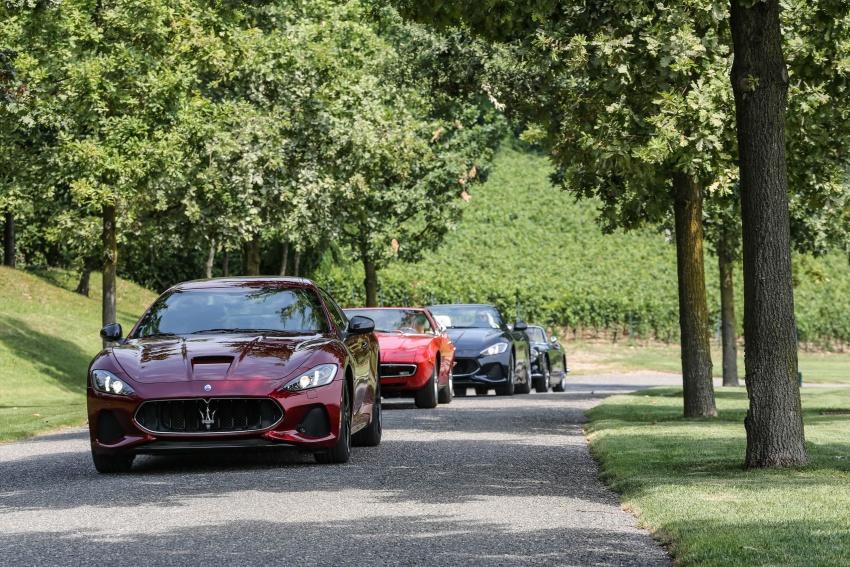 DRIVEN: 2018 Maserati GranTurismo, GranCabrio in northern Italy – form is temporary, class is permanent Image #700875