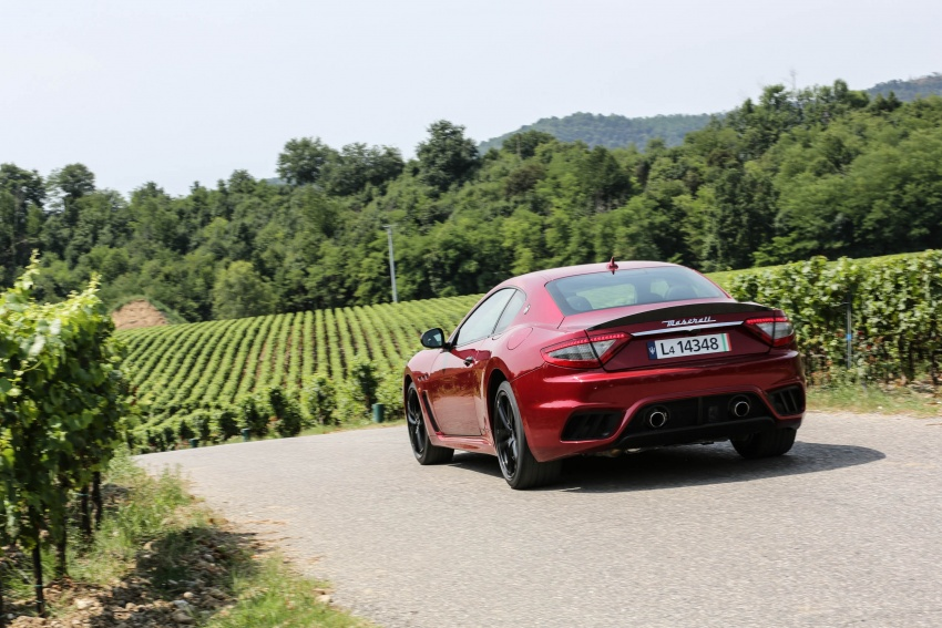 DRIVEN: 2018 Maserati GranTurismo, GranCabrio in northern Italy – form is temporary, class is permanent Image #700876