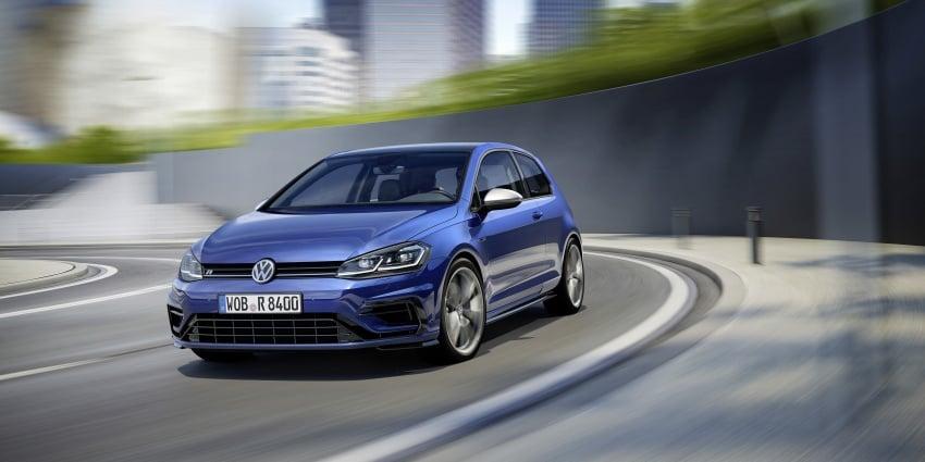 Volkswagen Golf R gains optional Performance packs Image #692036
