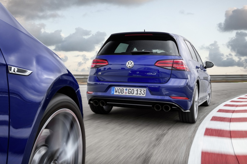 Volkswagen Golf R gains optional Performance packs Image #692048