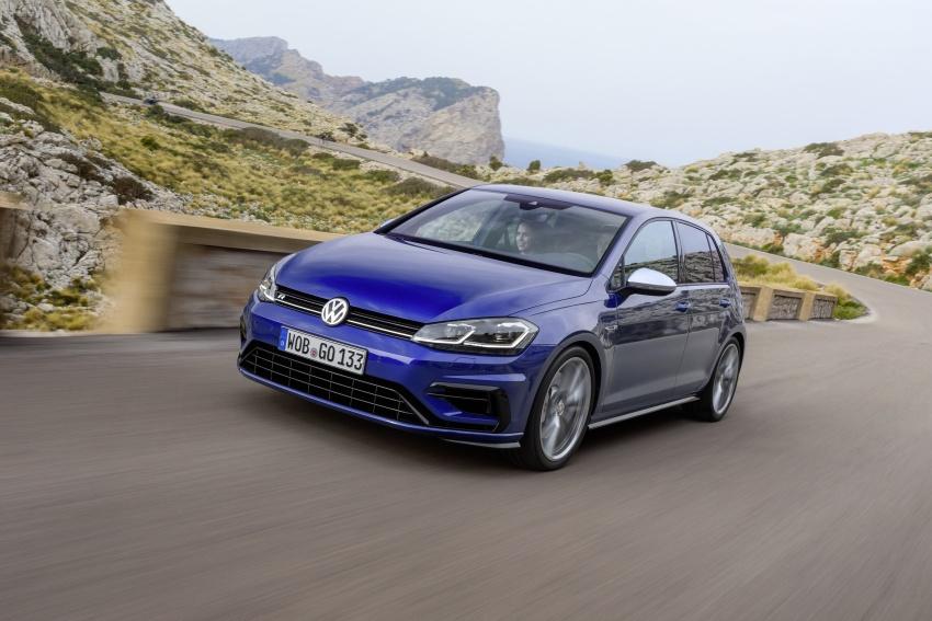 Volkswagen Golf R gains optional Performance packs Image #692050
