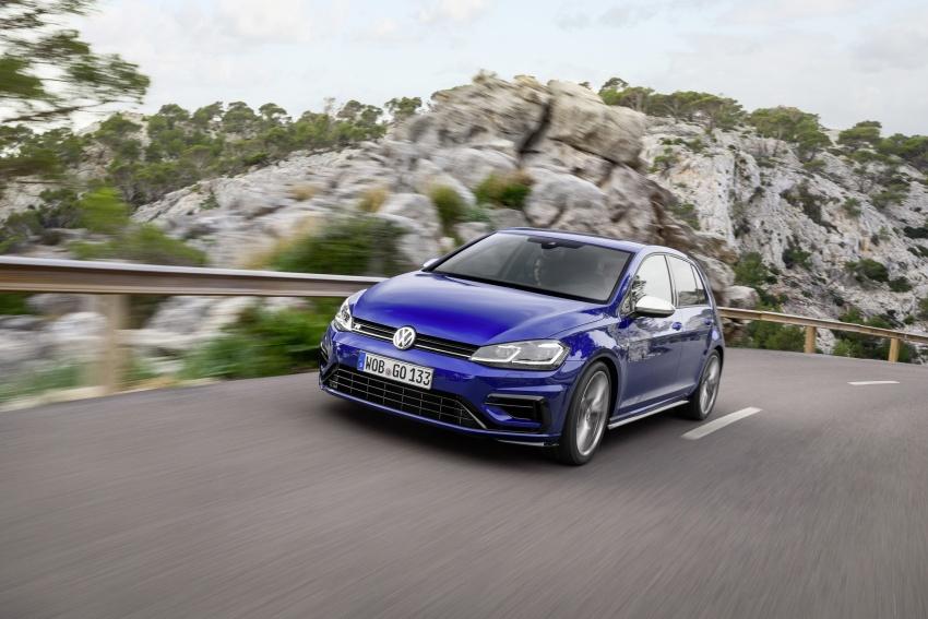 Volkswagen Golf R gains optional Performance packs Image #692052