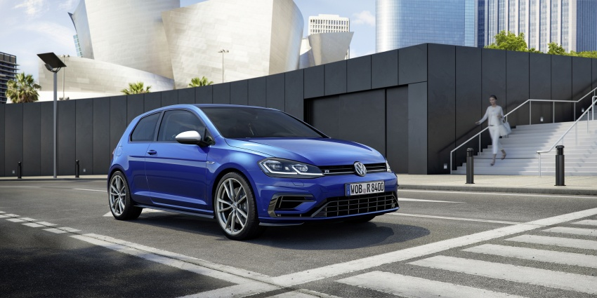 Volkswagen Golf R gains optional Performance packs Image #692037