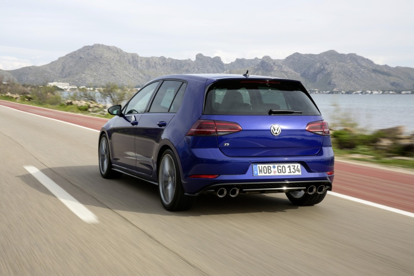 Volkswagen Golf R gains optional Performance packs Image #692092