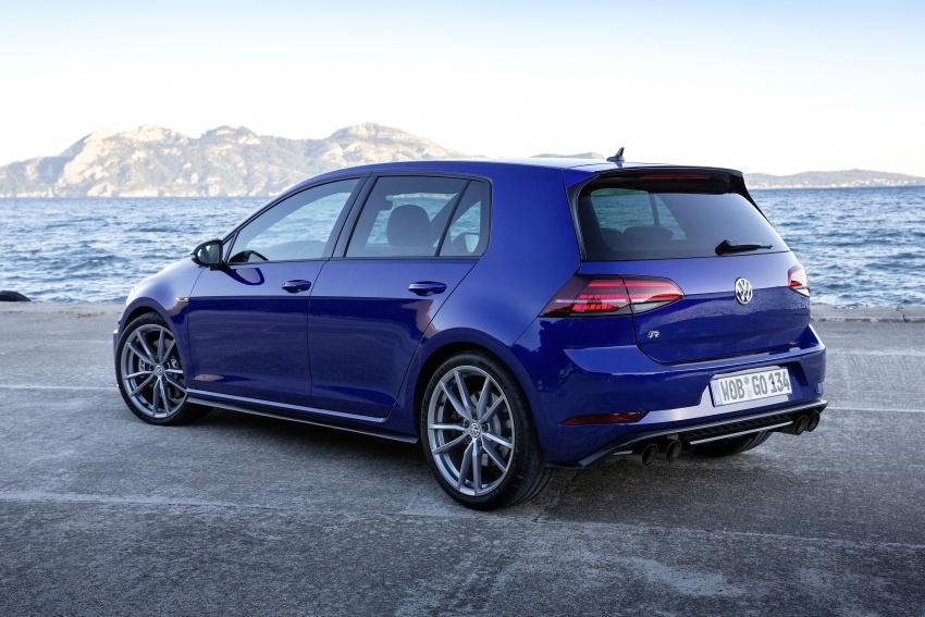 Volkswagen Golf R gains optional Performance packs Image #692097