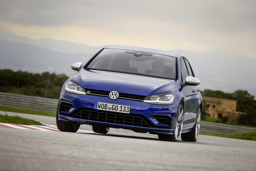 Volkswagen Golf R gains optional Performance packs Image #692042