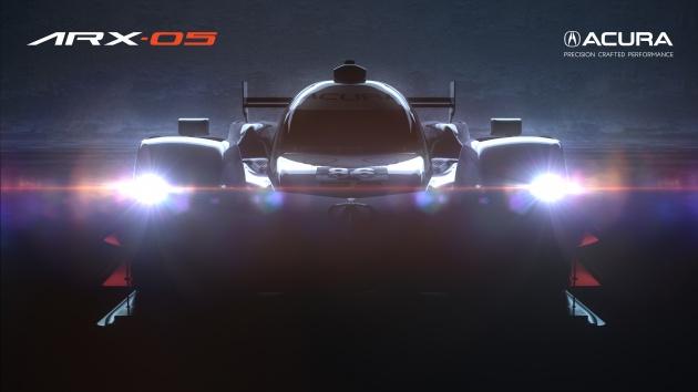 Acura keluarkan teaser kereta lumba prototaip ARX-05
