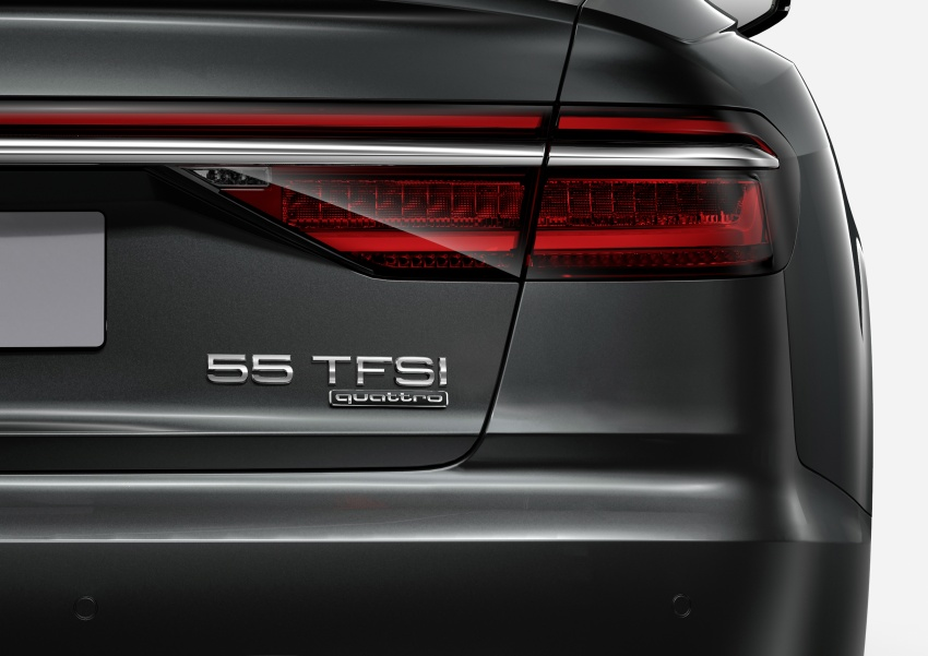 Audi introduces new nomenclature for power output designations of all models, starting with the new A8 Image #703054